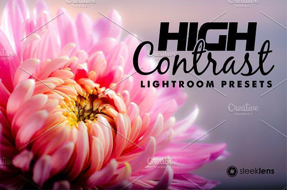 High Contrast Blow Lightroom Presets - Actions