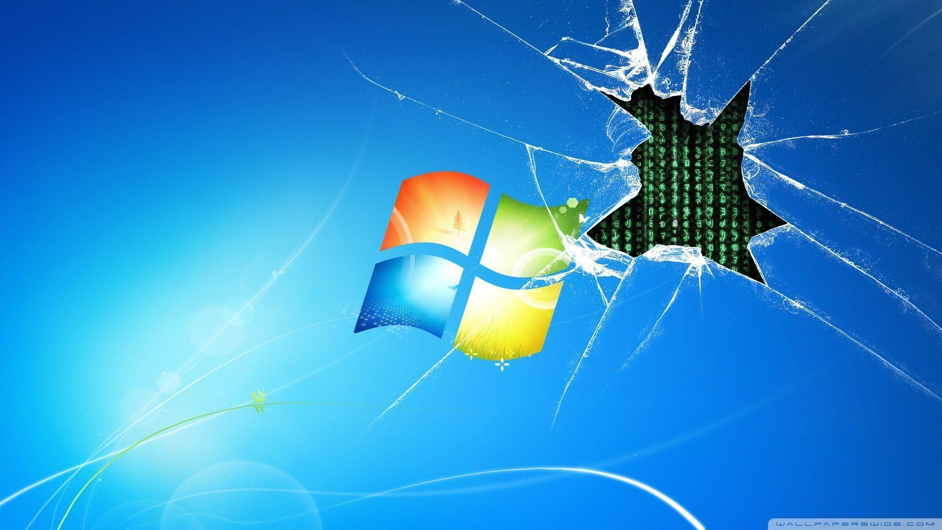 Windows 7 runs on the Matrix [Wallpaper] Reviews news
