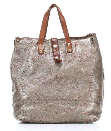 buy good more photos best Campomaggi Lavata Teodorano Handbag Leather mint 33 cm ...
