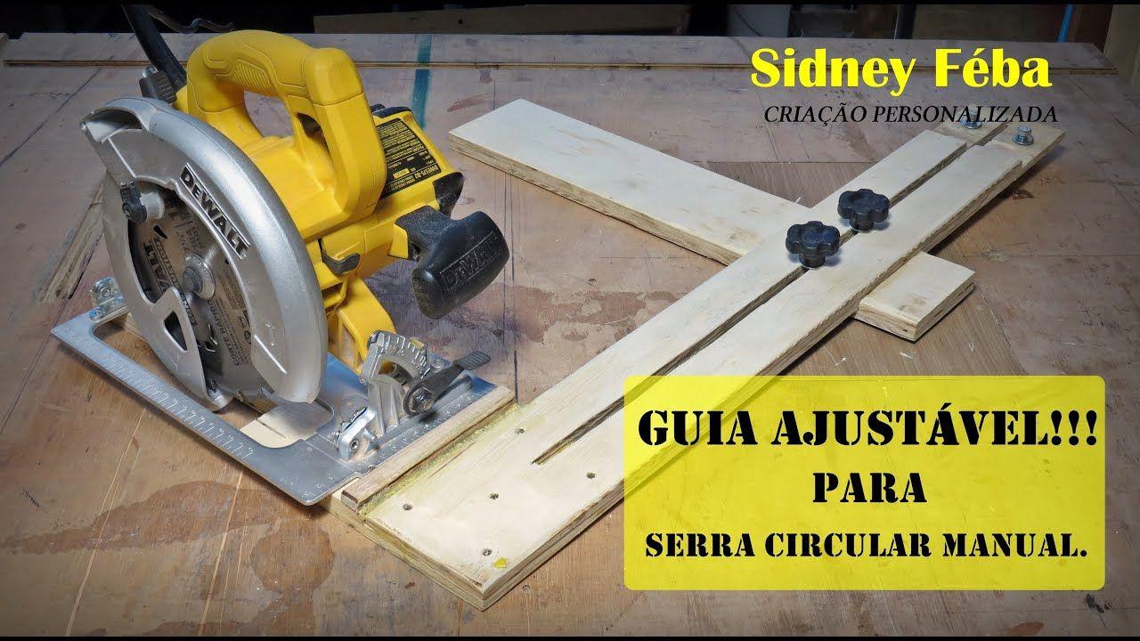 Guia Ajustavel Para Serra Circular Manual Serra Circular Manual