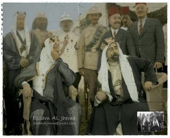 صور نادرة للملك عبدالعزيز وأبناءه King Abdullah My King Old Pictures