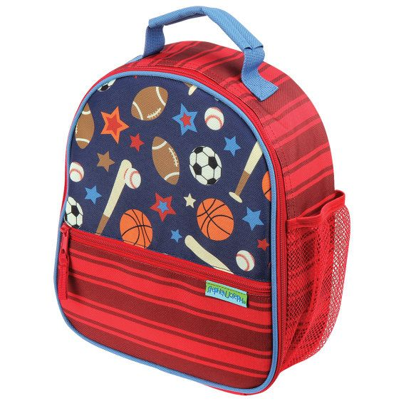 Personalized Stephen Joseph All Over Print Lunch Box Sports Sharks Dinosaur  Princess Owl Butterfly 1b7d2e67085c7