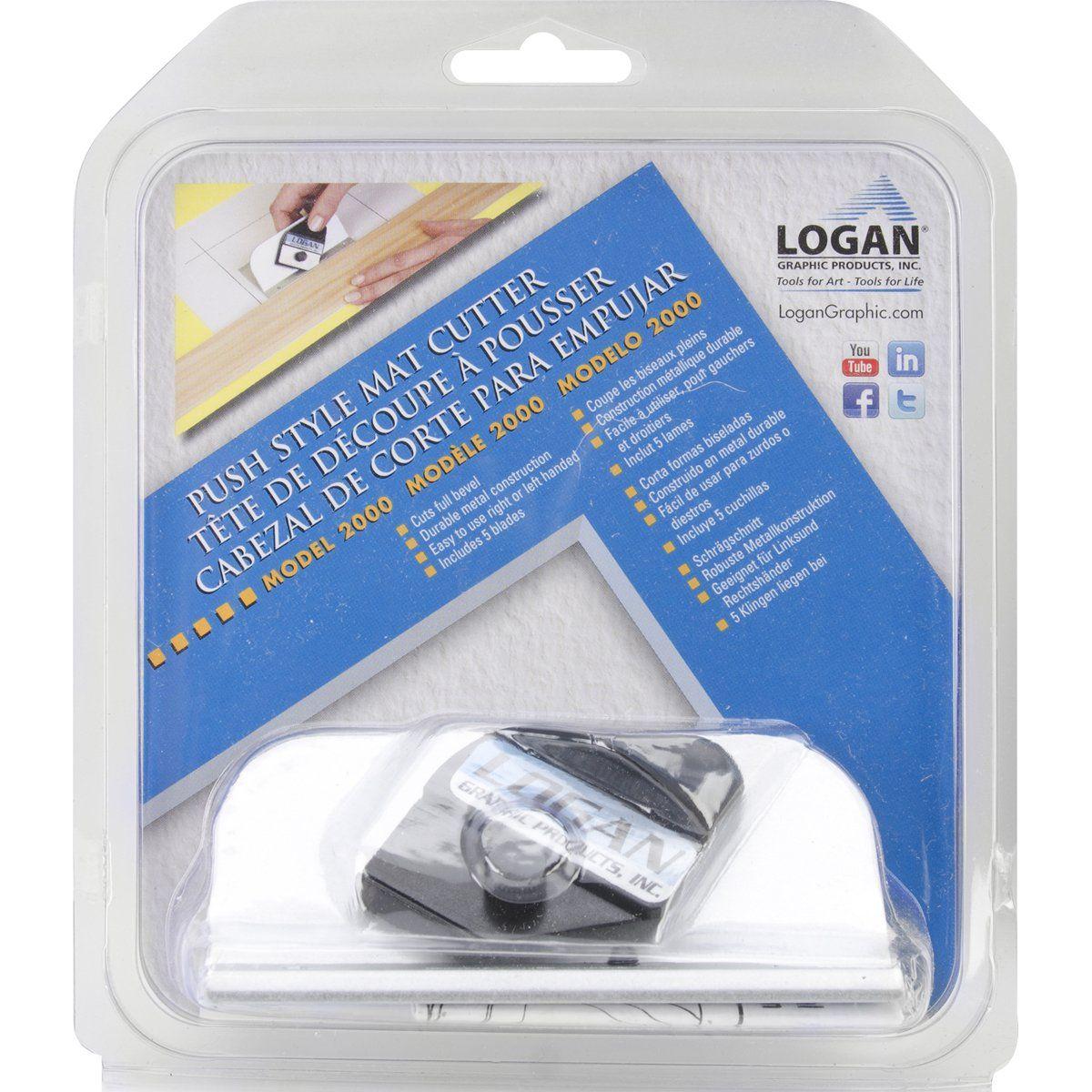 Logan Push Style Bevel Mat Cutter Bevel Cutter Art Supply Stores