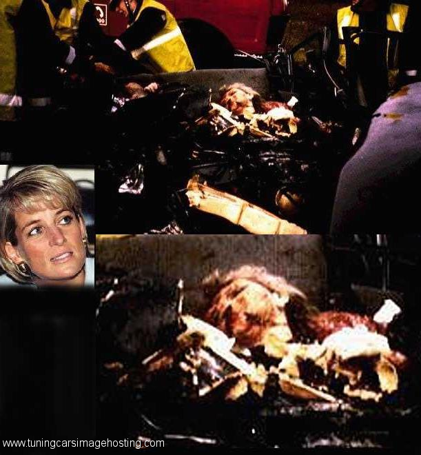 Details Of Princess Diana S Car Crash
