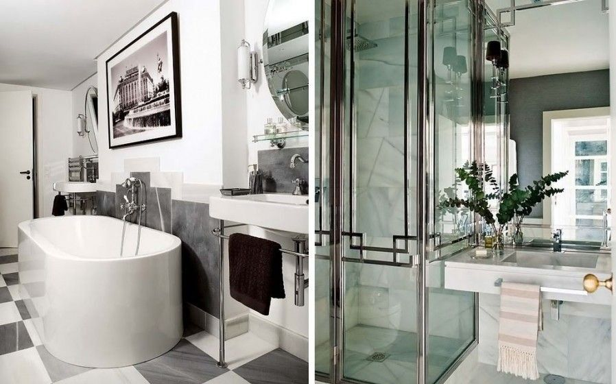 Minimalist And Luxury Modern Art Deco Bathroom Designs Decor Unique Basement Bathroom Design Minimalist