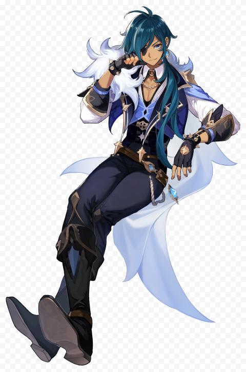 Hd Kaeya Genshin Impact Character Png Citypng Character Character Design Inspiration Impact