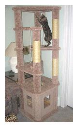 CAT ACCESSORIES   Cat tree plans, Cat tree and Cat