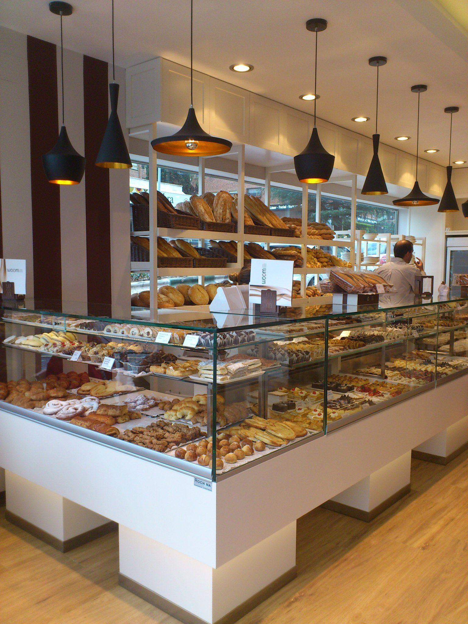 Decoracion diseno de panaderia rochinadecor 02 desayuno for Decoracion cafeterias modernas