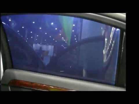 Electric Tinting Glass Car