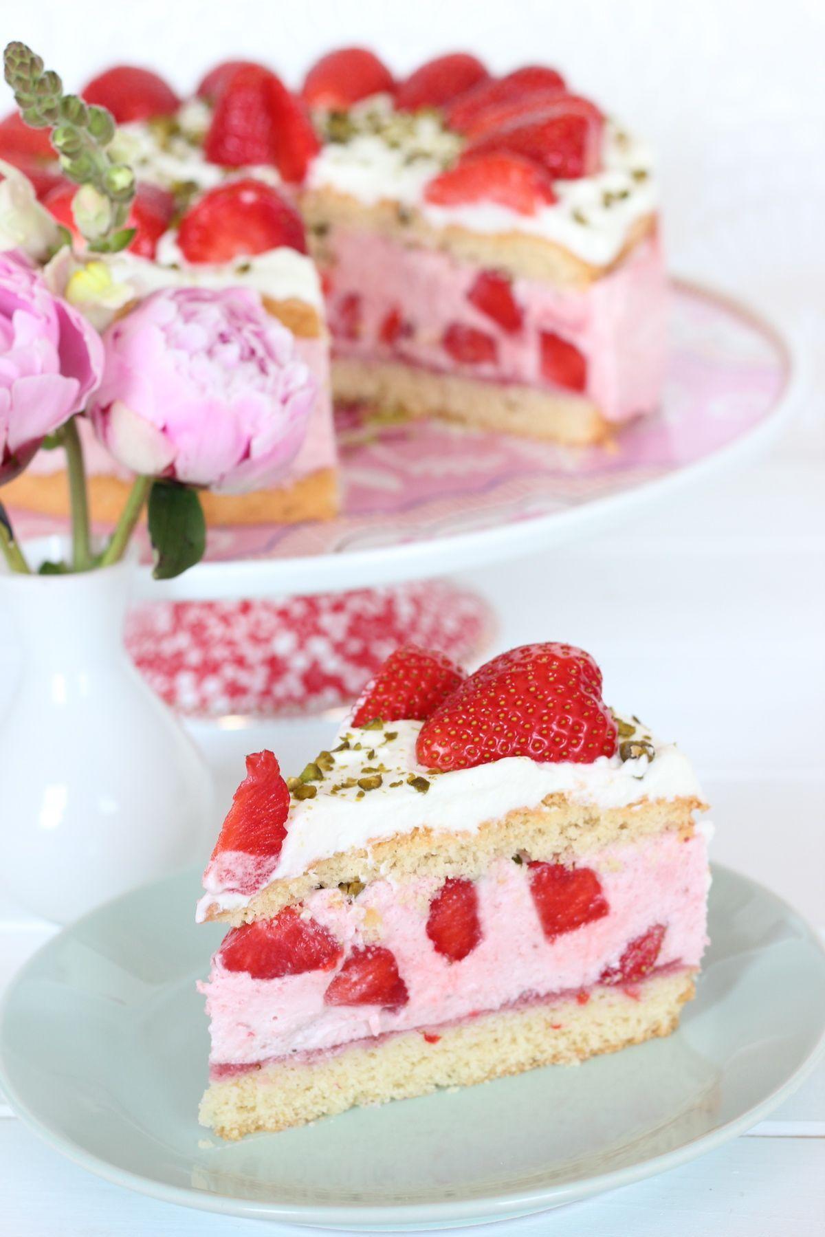 31++ Erdbeer sahne torte mit biskuitboden ideen