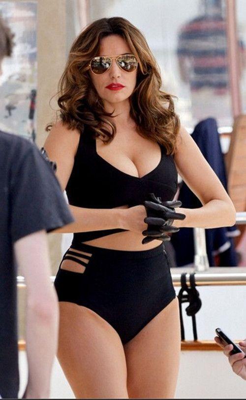 d244b55f8a Hot Plus SIze Women s High Waisted Push Up 2 PC Bikini Bathing Suit XL-3XL