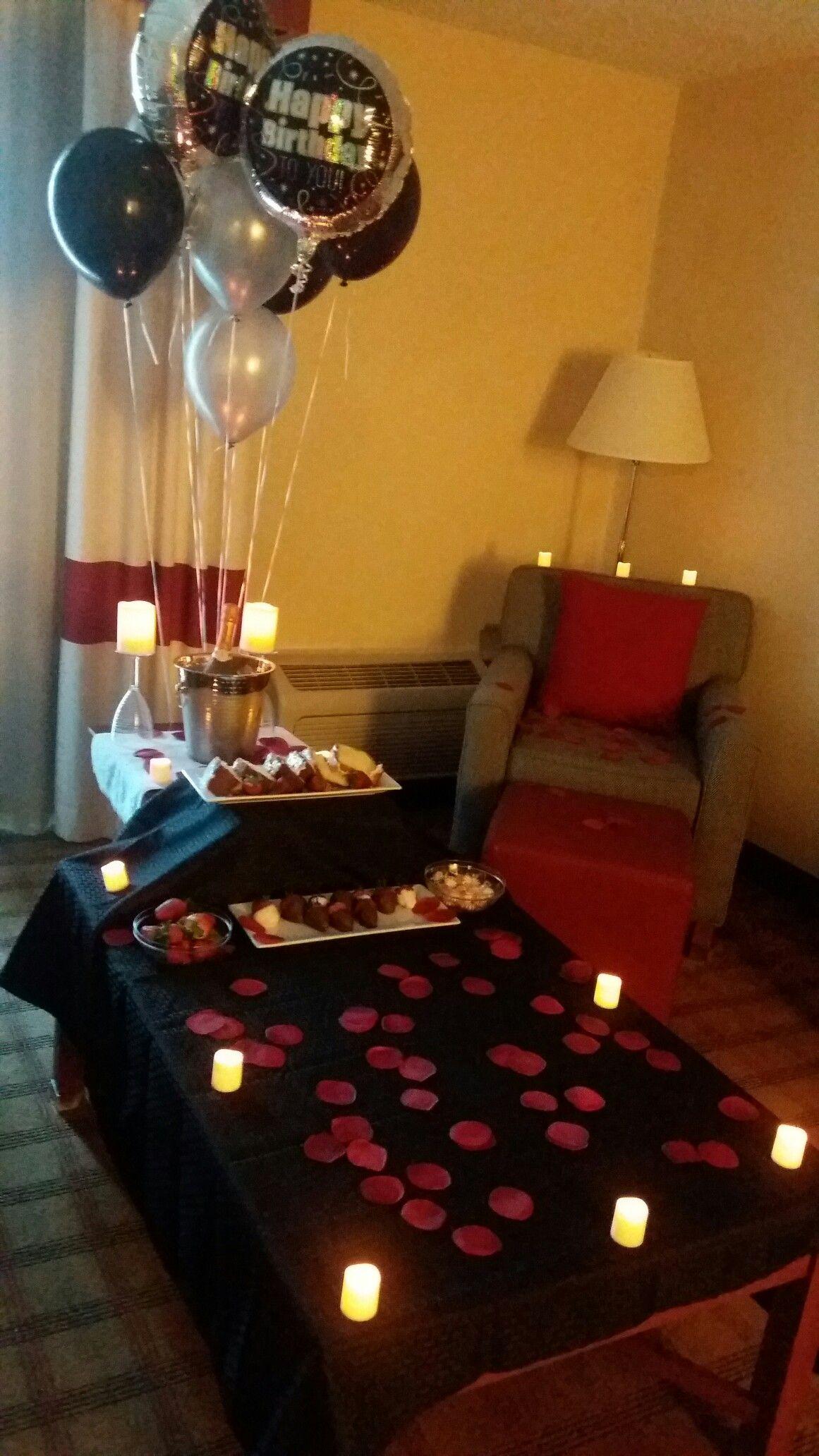 Yaaass | Romantic birthday Romantic room surprise ...