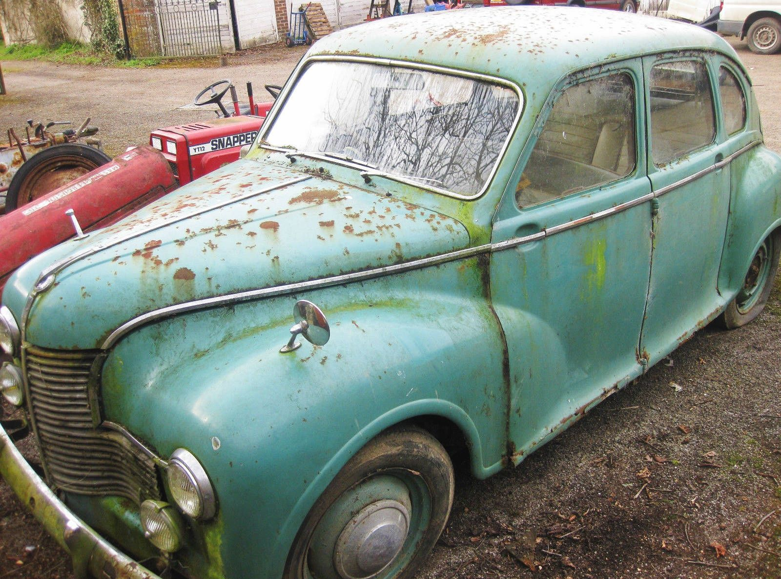 Unusual British Barn Find: Jowett Javelin - http://barnfinds.com ...