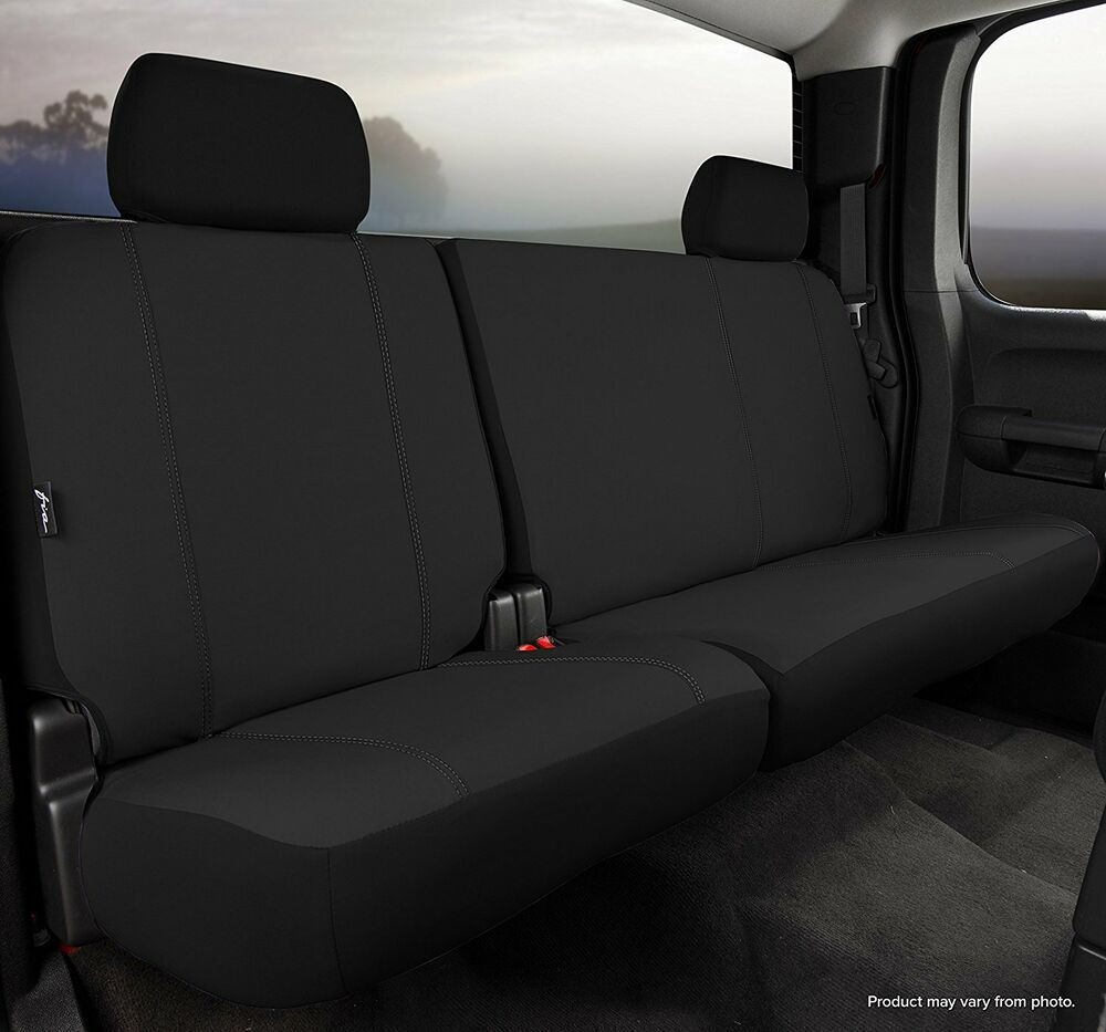 Fia Sp82 61 Custom Rear Seat Cover Black Fits 2008 2012 Ford Escape Custom Seat Covers Seat Cover Black Seat Covers