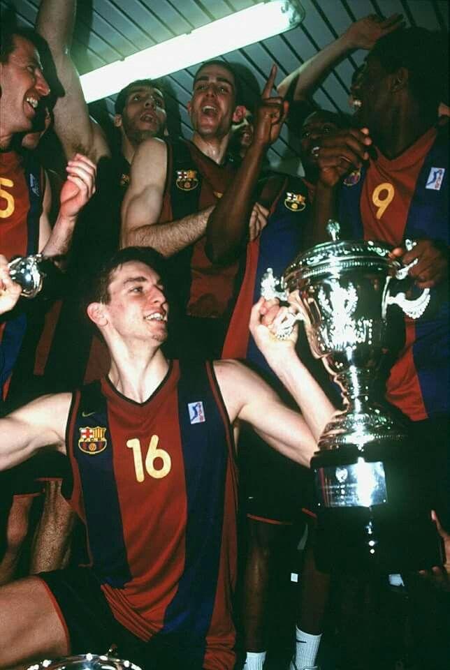 15 years ago MVP, Copa del Rey Pau Gasol