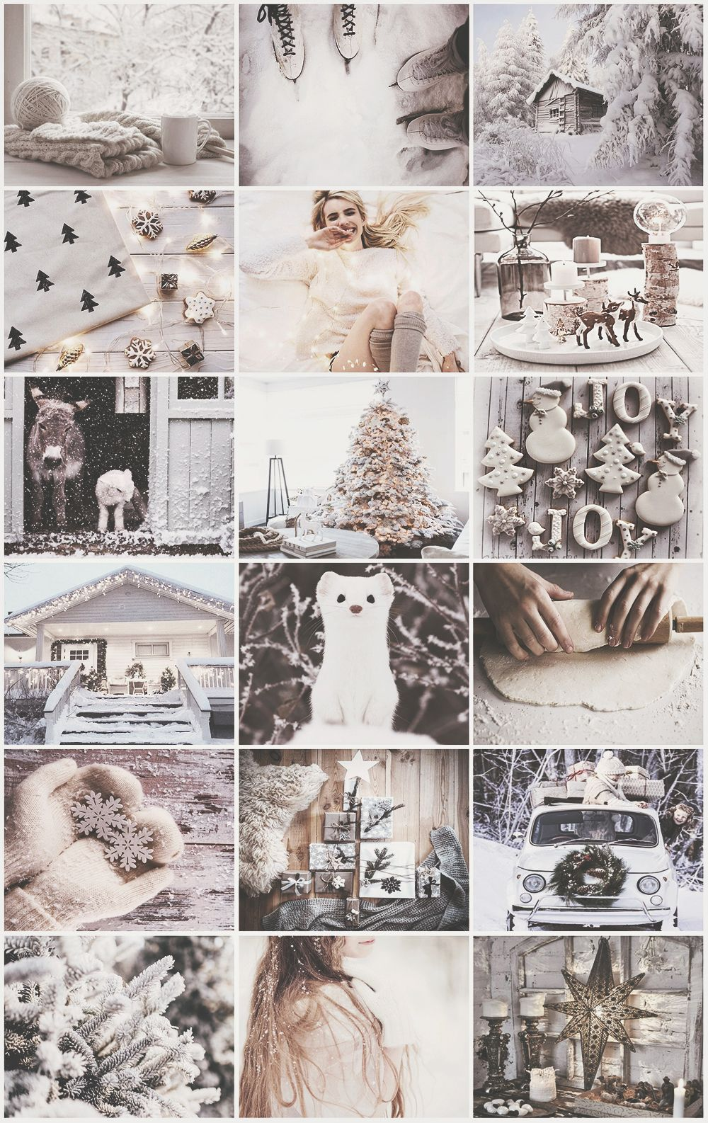 White Christmas Aesthetic Cute Christmas Wallpaper Christmas Collage Wallpaper Iphone Christmas