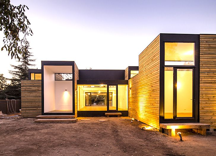 Energyefficient Casa SIP m3 house is made from stackable