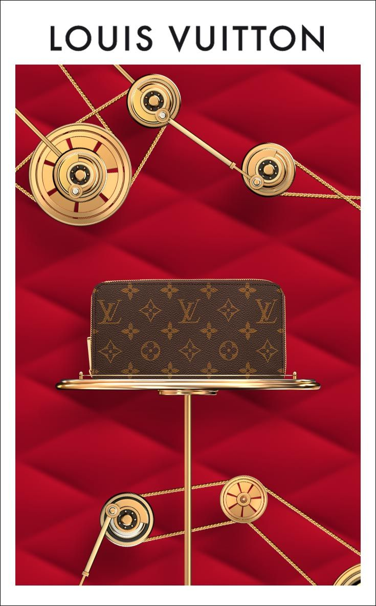 Keep It Iconic With A Monogram Zippy Shop Women's Wallets From Louis  Vuitton