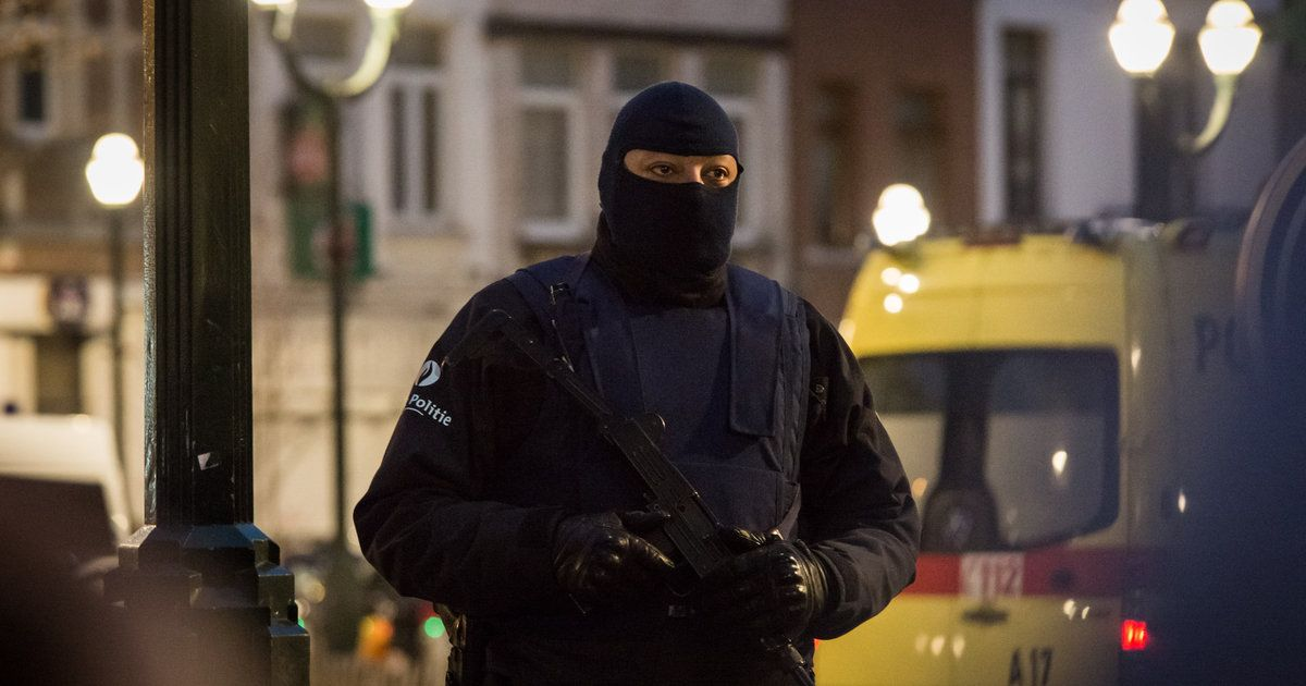 Belgian Authorities Find ISIS Flag After Deadly Raid #World #iNewsPhoto
