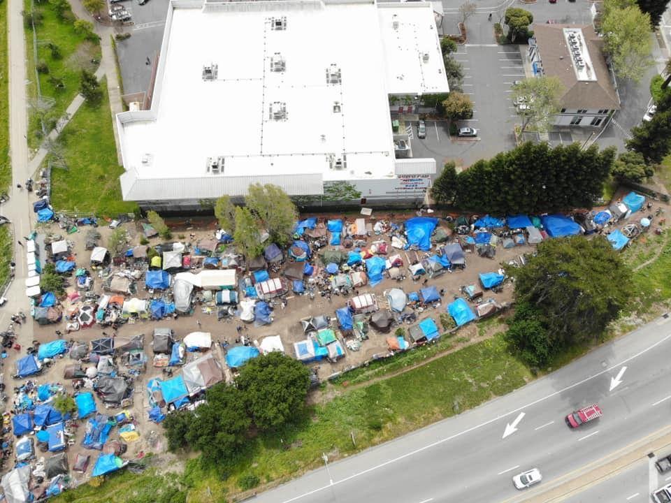 Homeless Camp In Santa Cruz Ca Camping France Coleman Camping Stove Camping Lights