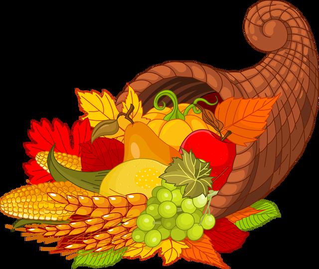 Thanksgiving harvest. Clip art programs