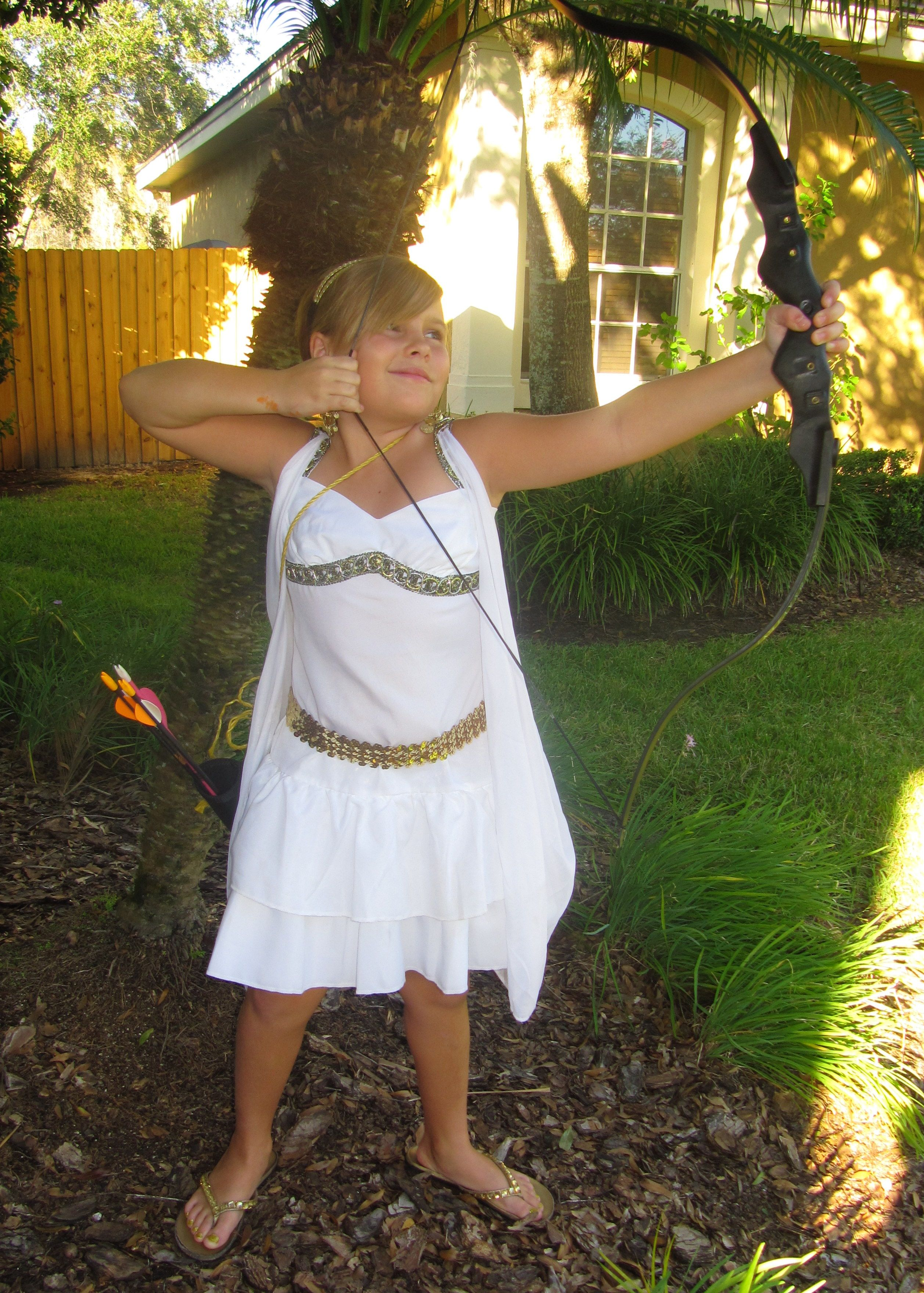 2012. Artemis Costume. Got basic outfit from goodwill and ...