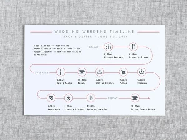 Wedding Invitation Enclosures Wedding activities, Destination - sample wedding timeline