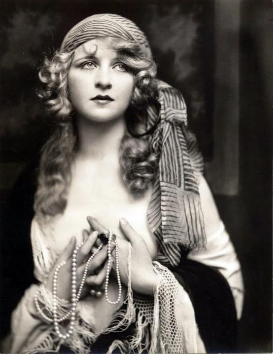 Mary Pickford dall/'aspetto SPECCHIO pinup stampa Alfred Johnston Ziegfeld Follies Girl