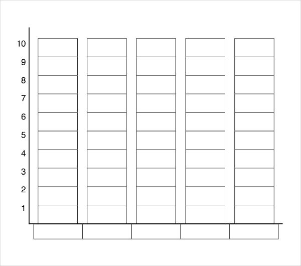 Graphing Template Blank Chart Graph Blank Bar Graph Template Nd