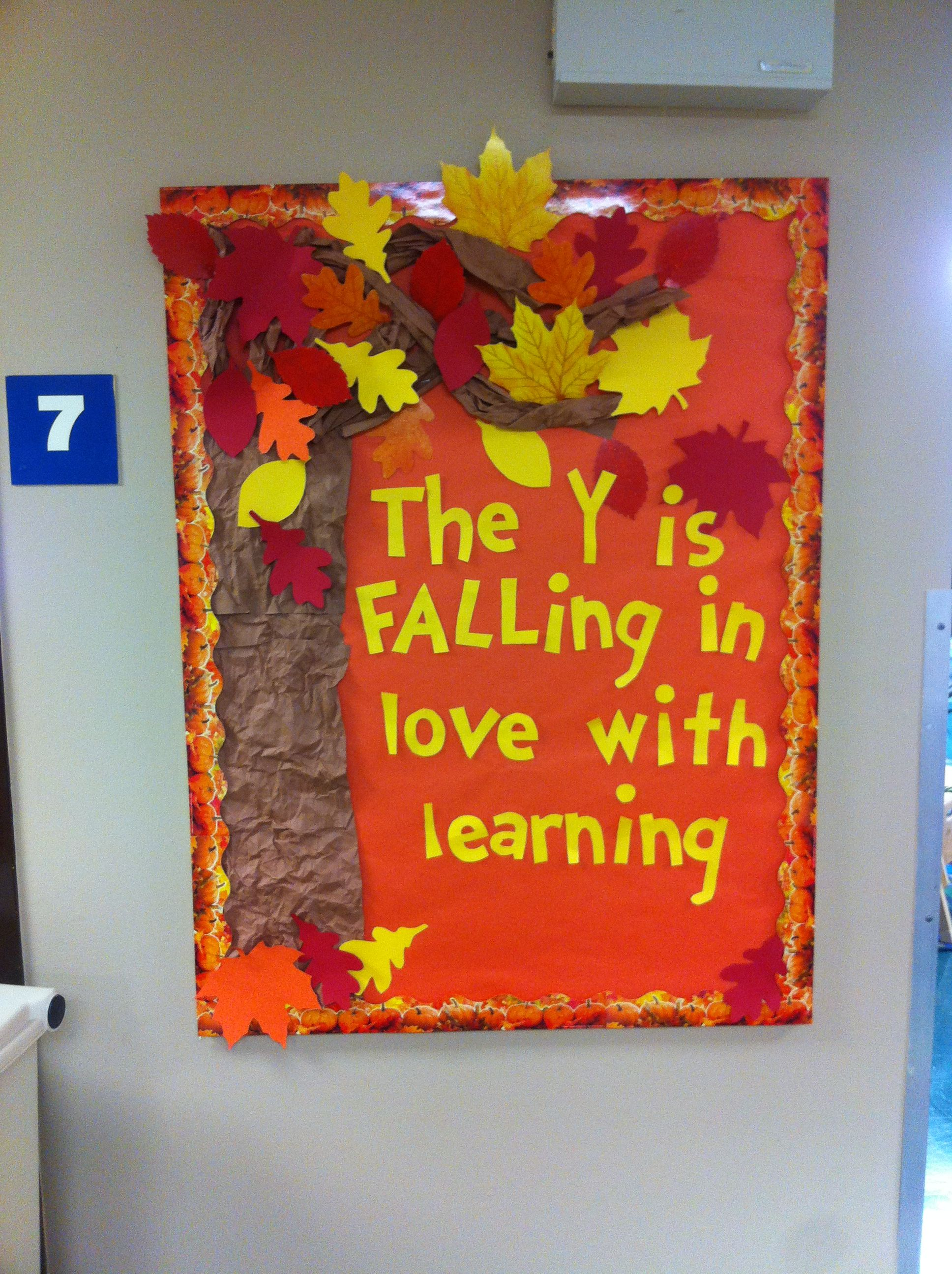 Falling In Love With Learning. Fall Bulletin