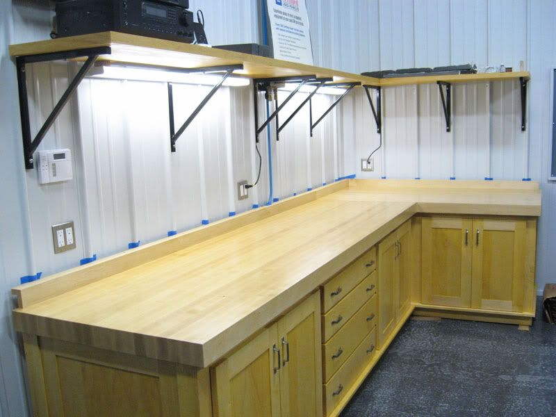 Tool Benches Garage : Work benches from scratch page the garage