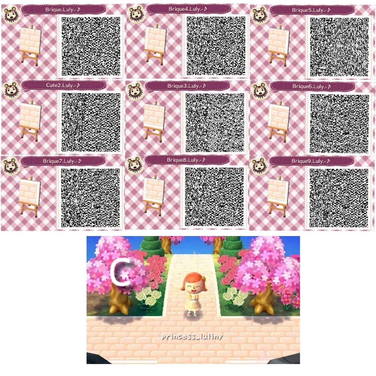 Animal Crossing New Leaf Hhd Qr Code Paths Luliny Acnl