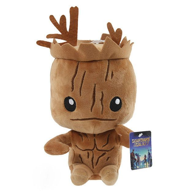 Marvel Guardians of the Galaxy Plush Doll Groot and Rocket Raccoon