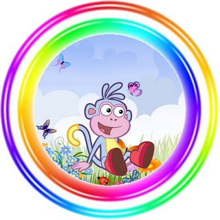 Dora the Explorer: Free Printable Toppers and Images.
