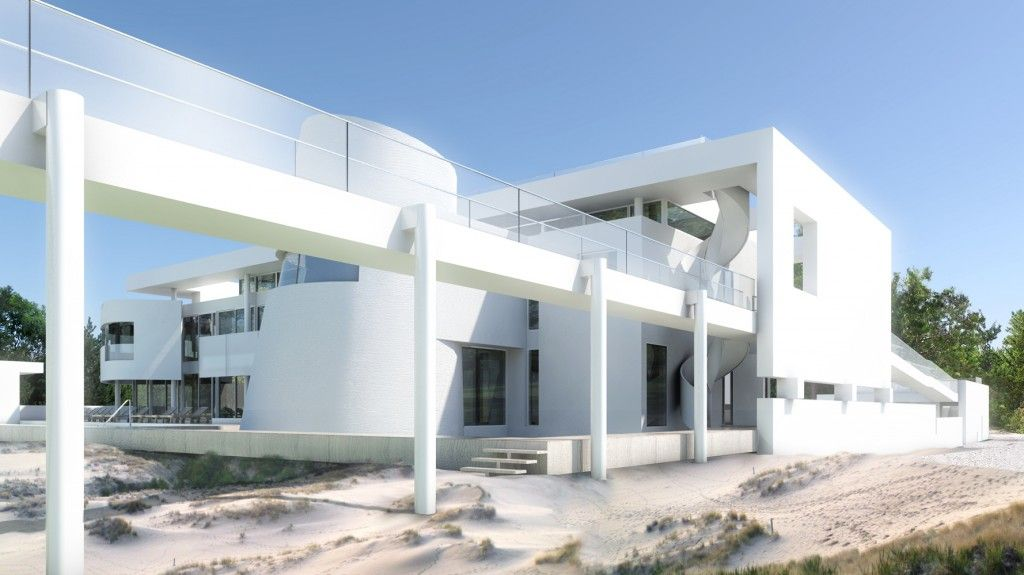 Dune Road Residence U2013 Richard Meier U0026 Partners Architects