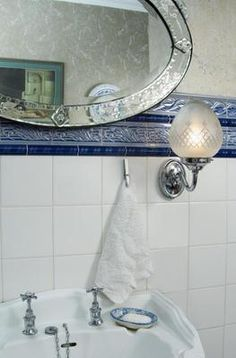 Edwardian Bathroom Mirror Light