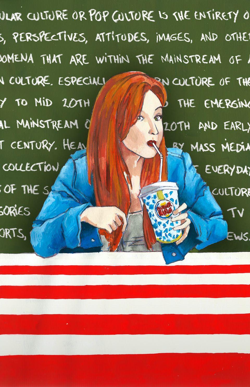 Popular culture by Petri Fills #illustration