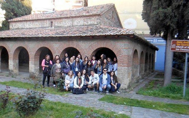 Italians visit Greece 2015