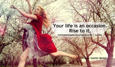 Red dress girl quotes