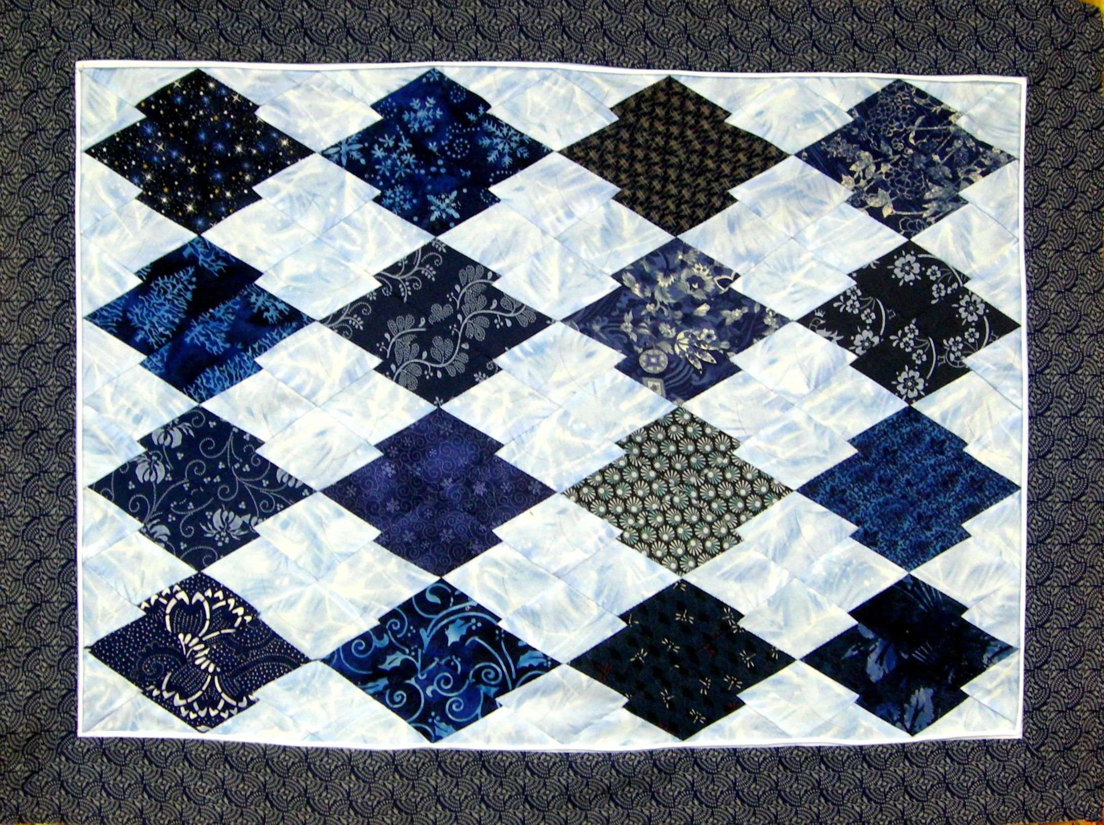 Japanese Puzzle Quilt | Quilts twister/japanese puzzle | Pinterest ... : japanese style quilts - Adamdwight.com