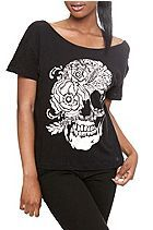 HOT TOPIC Iron Fist Mourning Glory Top Sku 701041