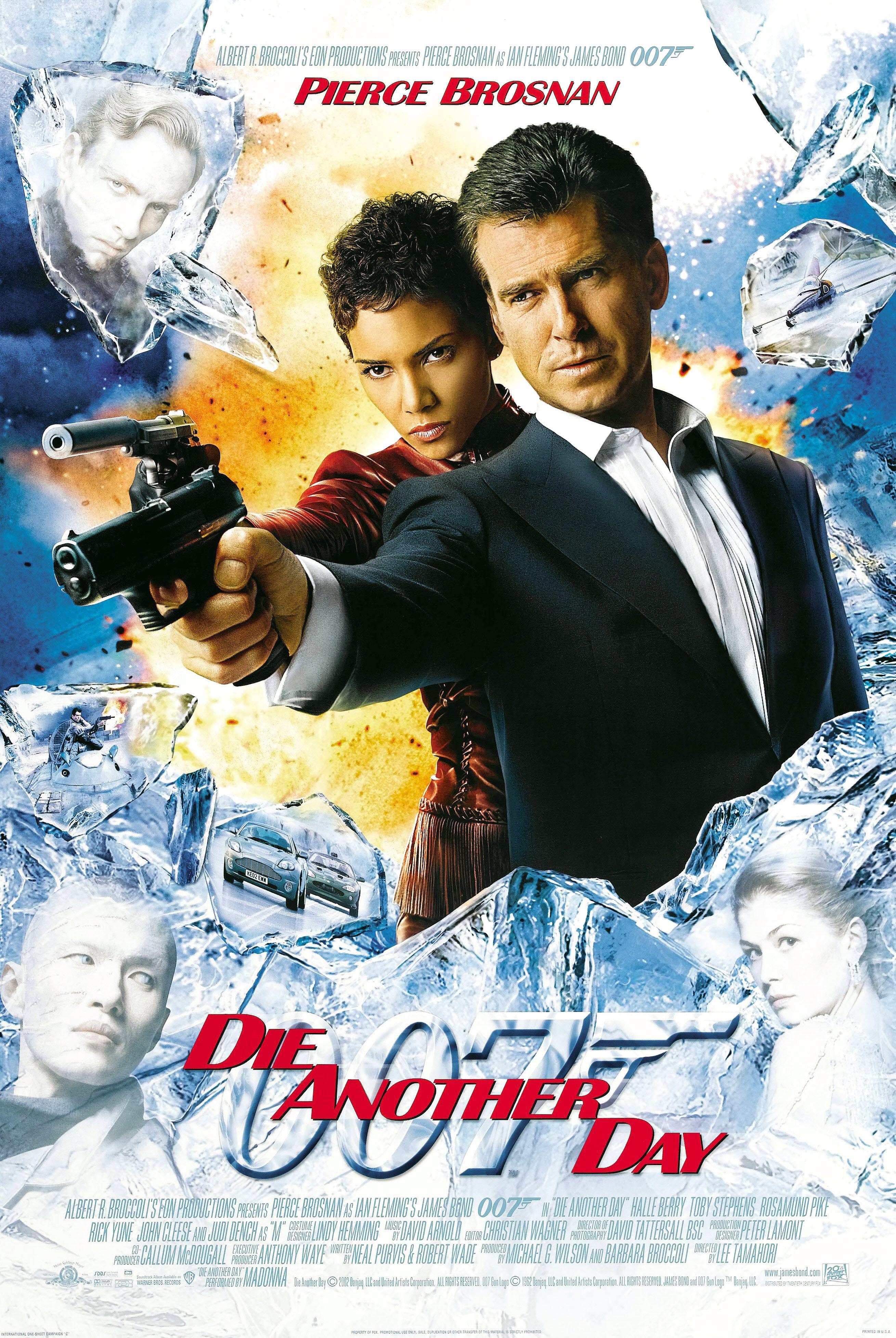 Die Another Day James Bond James Bond Movies James Bond Movie