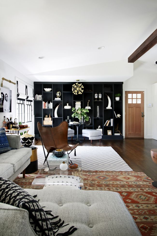 How to Skillfully Combine Multiple Rugs in a Room | Loft Vibes by ...