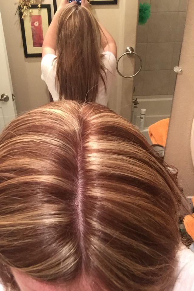 Color Highlights 7w 7n Matrix Socolor Long Hair Styles Hair Color Gold Hair