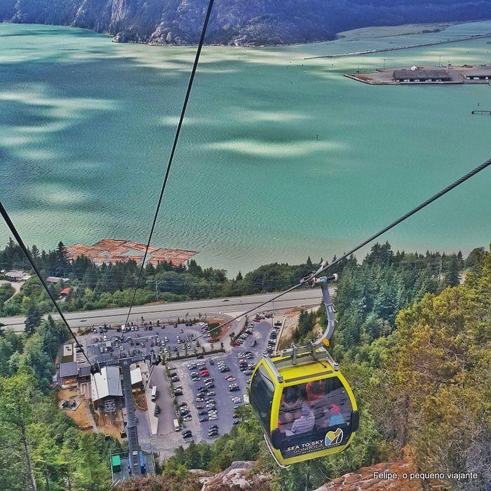 Felipe, o pequeno viajante: Sea to Sky Gondola e Sky Pilot Suspension Bridge - as melhores atrações entre Vancouver e Whistler