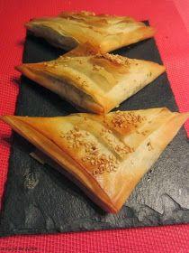 Recetas De Cocina De Jamie Oliver | La Cocina Del Sultan Triangulos De Pasta Filo Con Espinacas Y