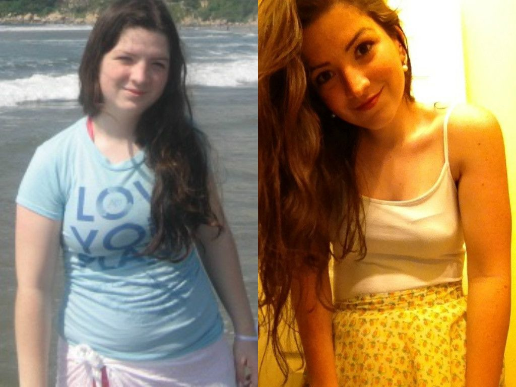5'3 Before: 155 lbs After: ~115 lbs I switched from a