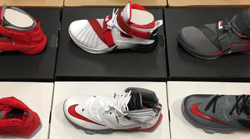 LeBron James Gave a Bunch of Exclusive Sneakers to the Ohio State Basketball Team