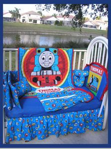 7d71d9c042d Thomas the Train Themed Nursery Baby Boy Train Theme Baby Crib Bedding Set   I started the decorating process for my baby s Thomas the Train themed  nursery ...
