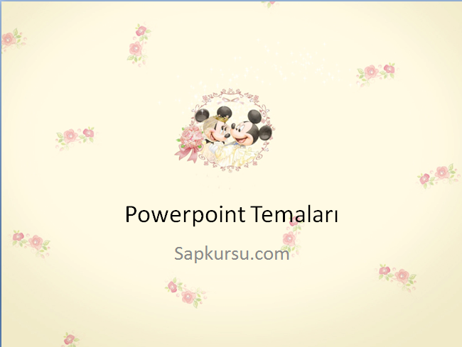 Disney Powerpoint Themes Disney Powerpoint Ppt Pptthemes Themes